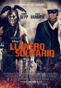 Cartell de la pel·lícula 'El llanero solitario'